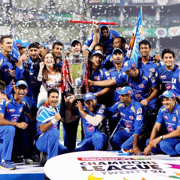 CL T20: Mumbai Indians clinch 2nd CLT20 title