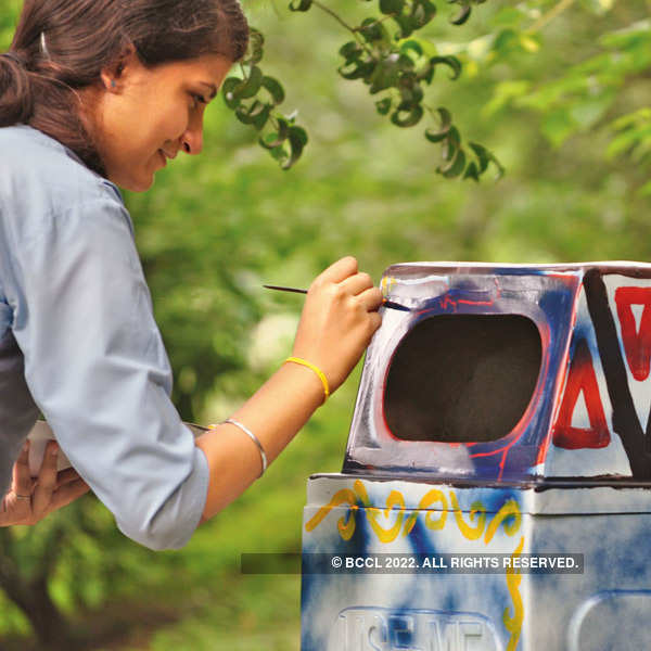 Public art event @ Lodhi Gardens