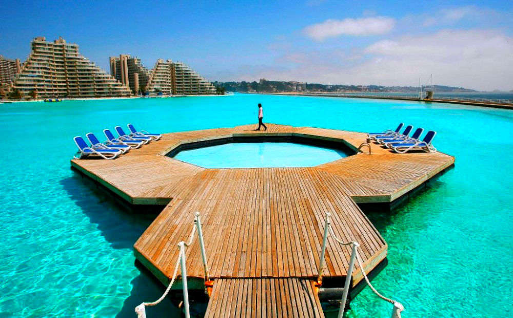 Worlds Largest Outdoor Pool At Chiles San Alfonso Del Mar Resort >> Chilling In Chile Dive Into The World S Largest Pool Chile Times