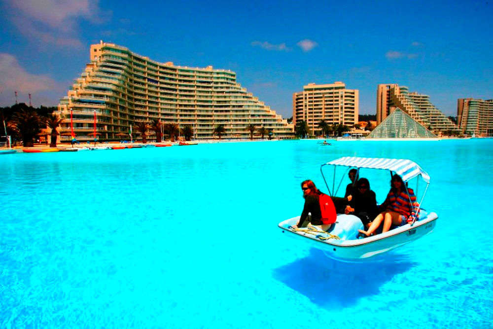 Largest Pool In Chile >> Chilling In Chile Dive Into The World S Largest Pool Chile