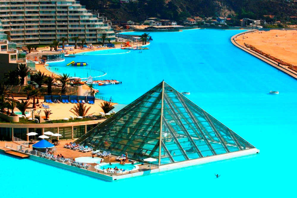 Largest Pool In Chile >> Chilling In Chile Dive Into The World S Largest Pool Chile Times
