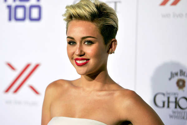 Miley Cyrus is comfortable being naked