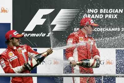 Belgium's F1Grand Prix