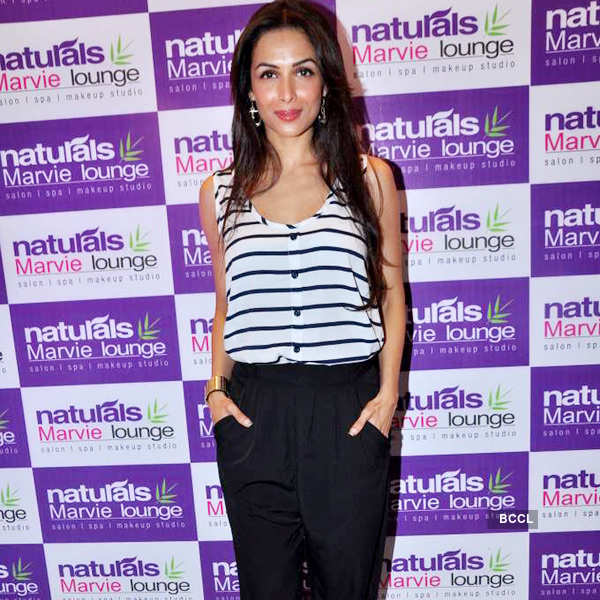 Malaika at spa launch