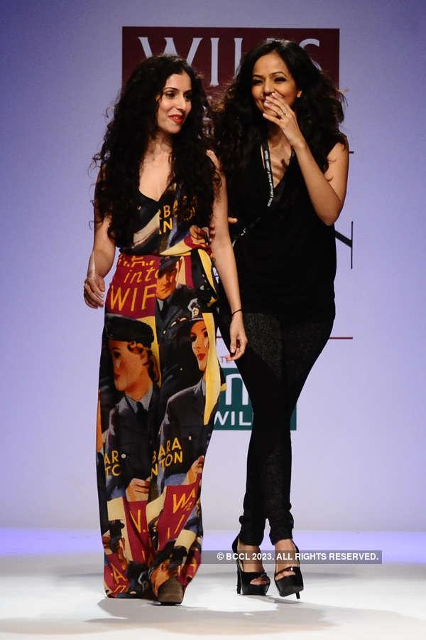 WIFW '13: Day 1: Gauri & Nainika