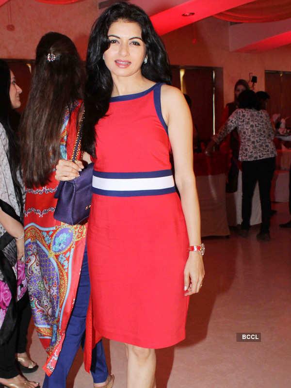 Anu Ranjan's b'day party