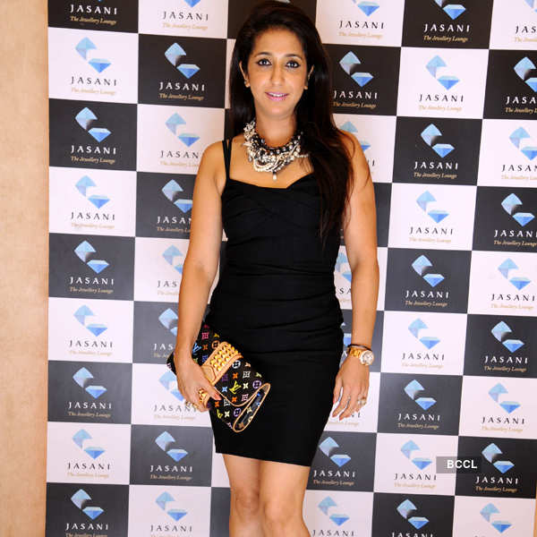 Celebs at jewellery preview