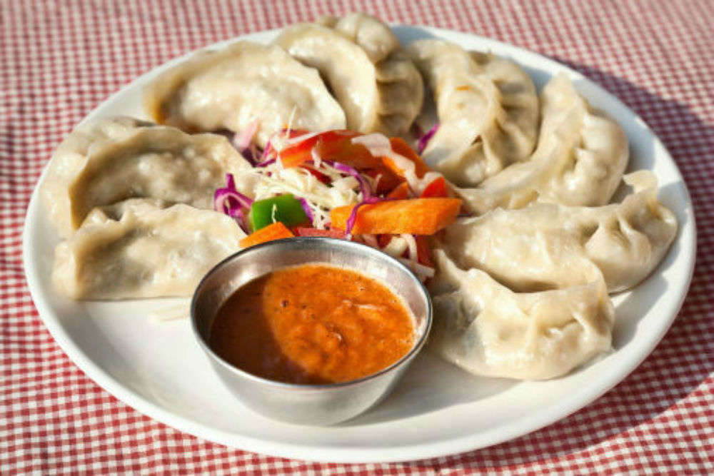 Momos from Dilli Haat
