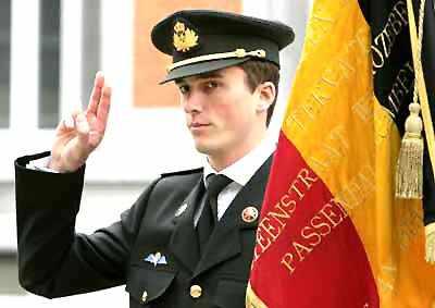 Belgium's Prince Amadeo