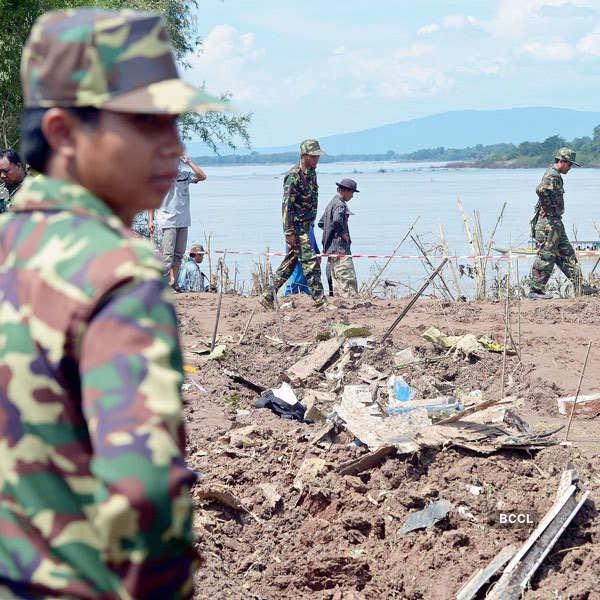 Plane Crash in Laos: PICS