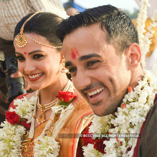Anita Hassanandani wedding