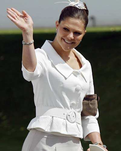 Sweden's princess Victoria