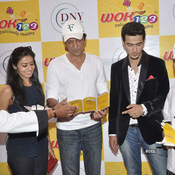 Kay Kay Menon at the lauch of WOK 123