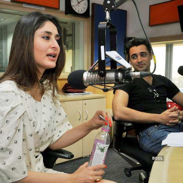 Bebo, Imran promote movie on radio