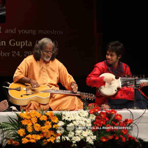 Classical music concert in Delhi