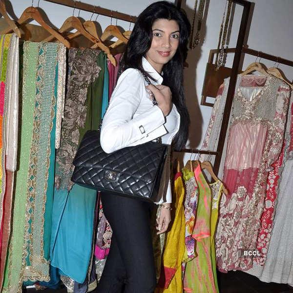 Amy unveils festive collection