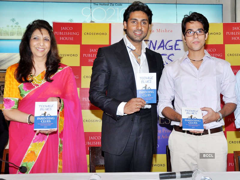 Abhishek at book launch