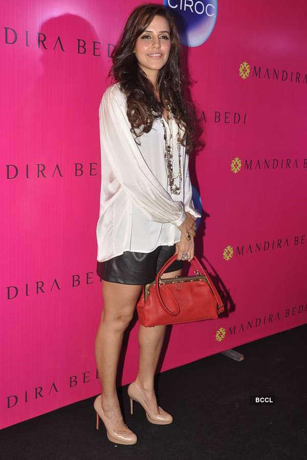 Mandira launches sari store