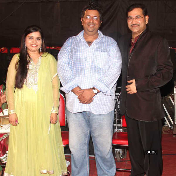 Big B at Hridayanath Mangeshkar celebrations