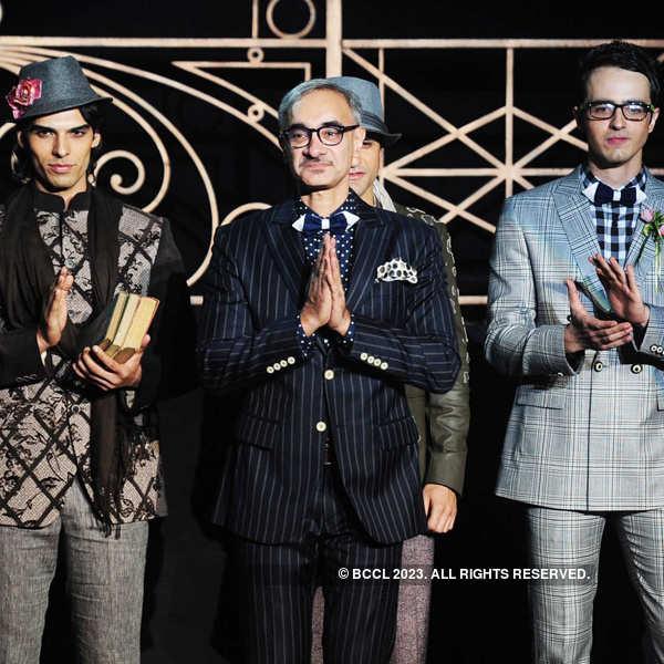 Ravi Bajaj's fashion show
