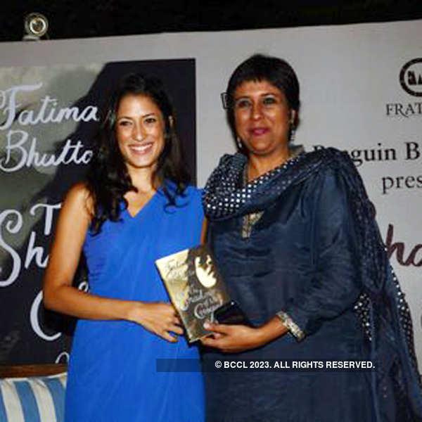 Fatima Bhutto's book launch