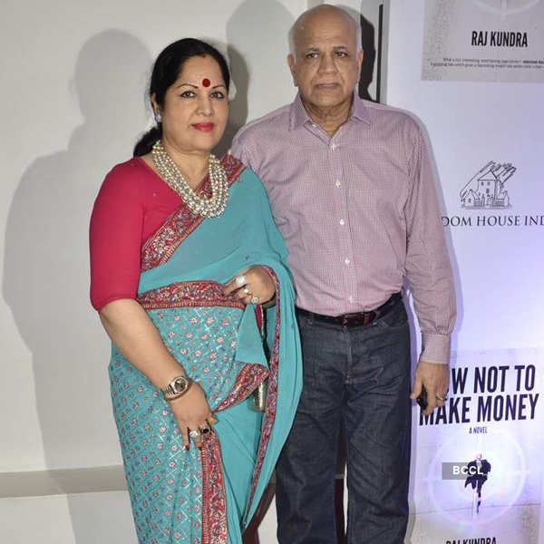 Raj Kundra's book success party