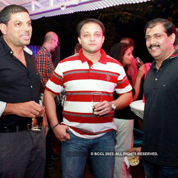 Suraj Morajkar's birthday party in Goa