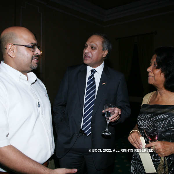 Party hosted by embassy of Sweden