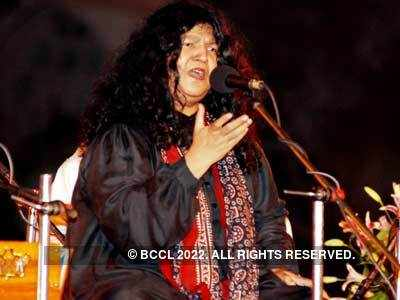 Abida Parveen's performance