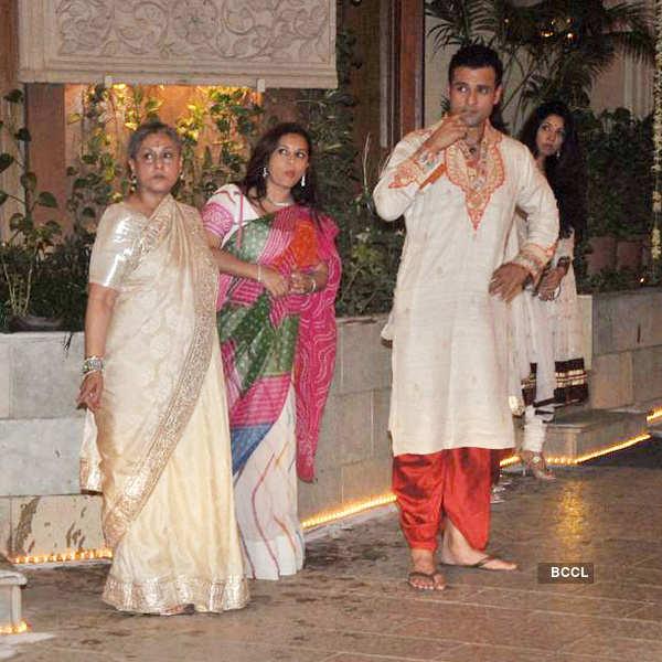 B'wood stars celebrate diwali