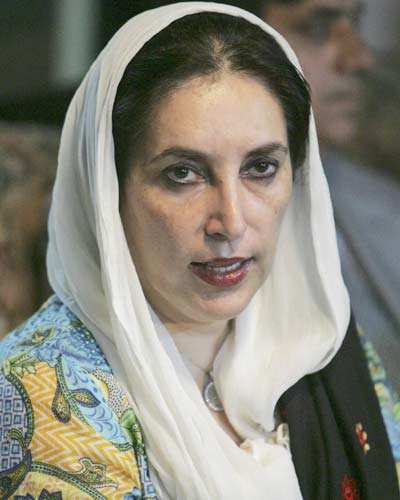 Benazir arrived in Islamabad