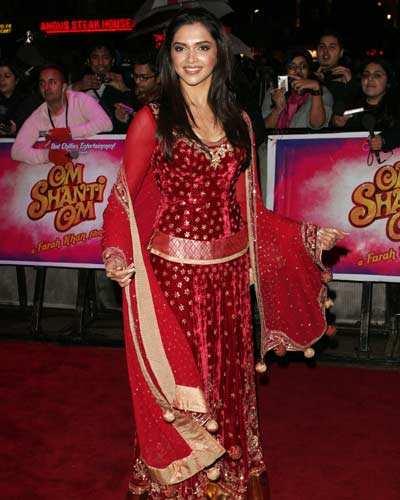 'Om Shanti Om' premiere in London