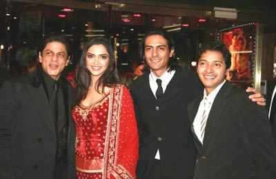 'Om Shanti Om' premiere in London