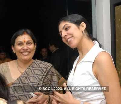 Mona Rai's art exhibition