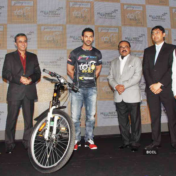 John launches cycling event