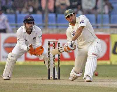 India v/s Pak test match