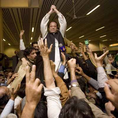 Nawaz Sharif  in Pakistan