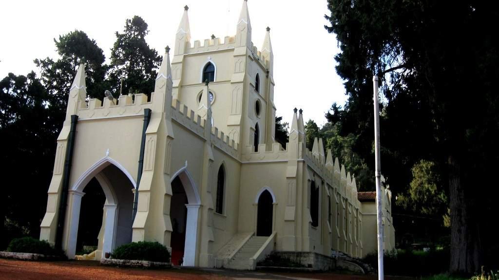 British-era churches