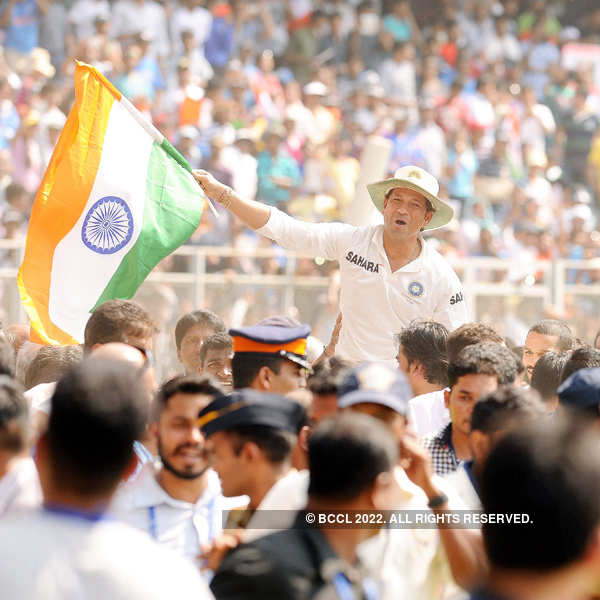 Sachin's farewell @ Wankhede