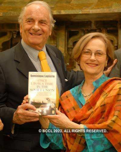 Dominique Lapierre's Book Launch