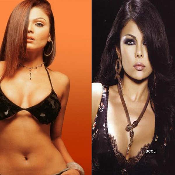 Rakhi Sawant and Haifa Wehbe