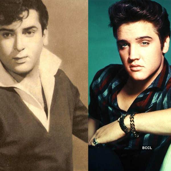 Shammi Kapoor and Elvis Presley