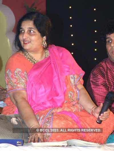 Anuradha Paudwal performs