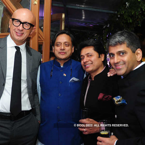 Sandeep Jajodia's dinner party