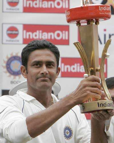 India wins test series