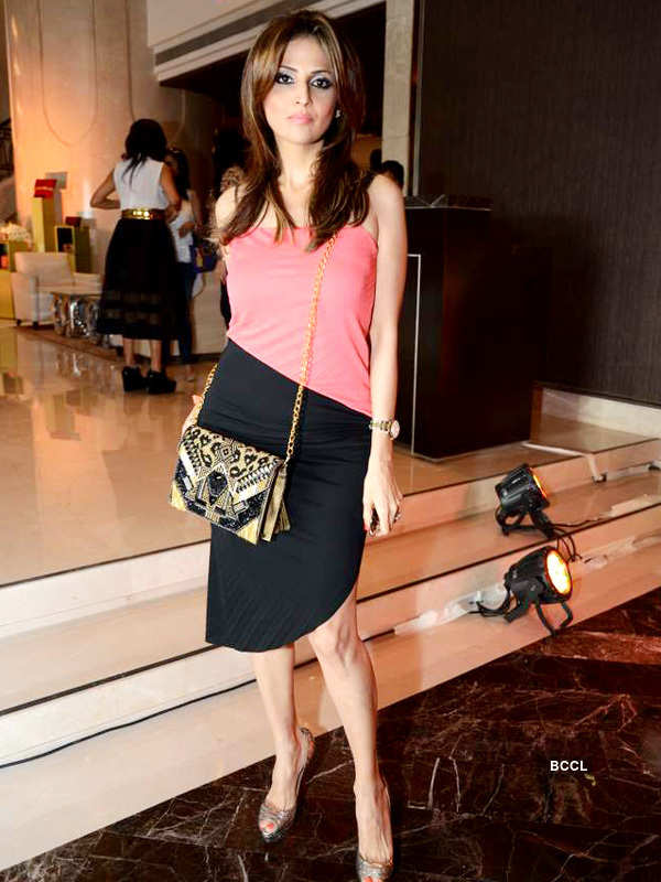 Celebs @ accessory brand launch