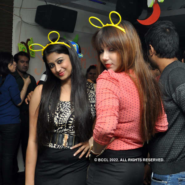 Theme party at Underground