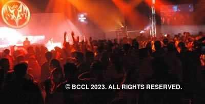 Bacardi B-Live party