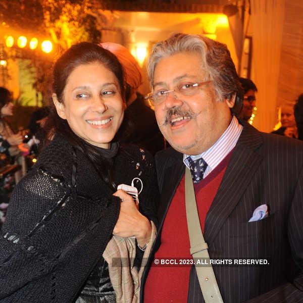 Sunil Tandon's birthday party