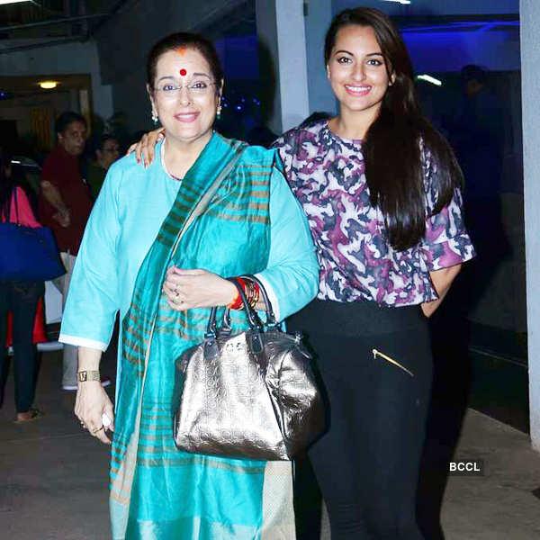 Sonakshi watches Bullet Raja